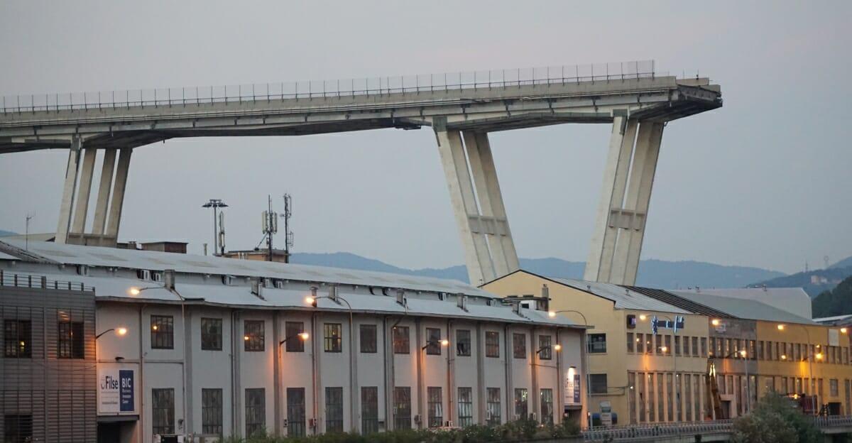 Ponte Morandi un aiuto per chi è in difficoltà