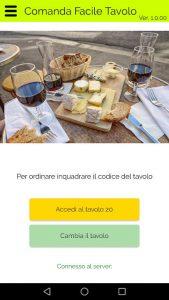 Comanda facile tavolo app