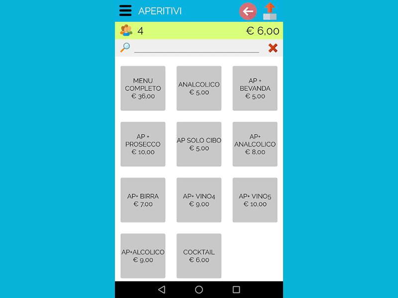 App Gestione Tavoli Ristorante